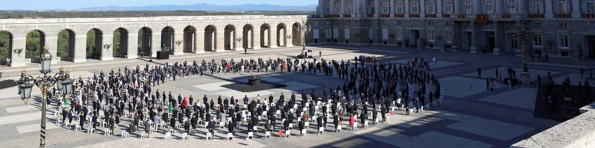 homenaje victimas covid19