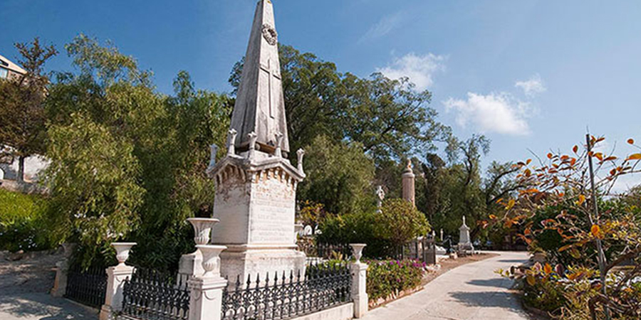 cementerio ingles malaga